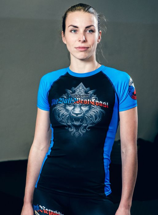 PitBull West Coast - dámský rashguard CZECH REPUBLIC