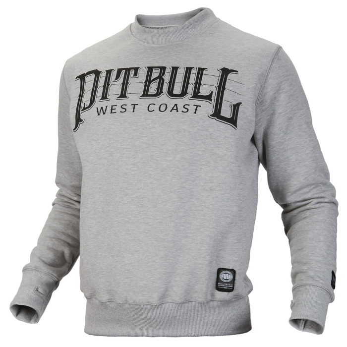 PitBull West Coast - mikina BASIC FAST šedá