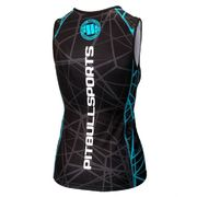 PitBull West Coast - dámský S-L rashguard BLUE RAY