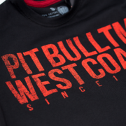 PitBull West Coast - triko BUSINESS US USUAL černé