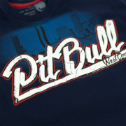 PitBull West Coast - pánské triko SAN DIEGO DOG dark navy