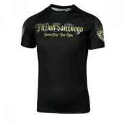 PitBull West Coast - Rashguard ACE OF SPADES černý