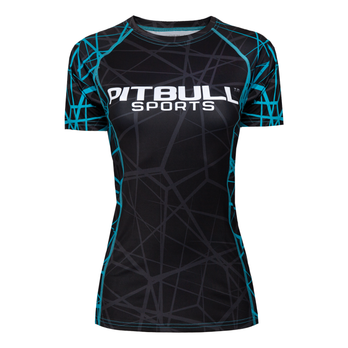 PitBull West Coast - dámský rashguard BLU RAY