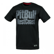 PitBull West Coast - pánské triko TRIBAL SKULL black
