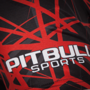 PitBull West Coast - Pánský Rashguard RED RAY