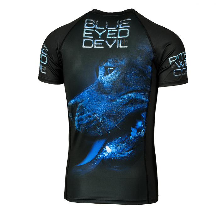 PitBull West Coast - Rashguard BED X černý