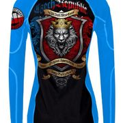 PitBull West Coast - dámský L.S. rashguard CZECH REPUBLIC