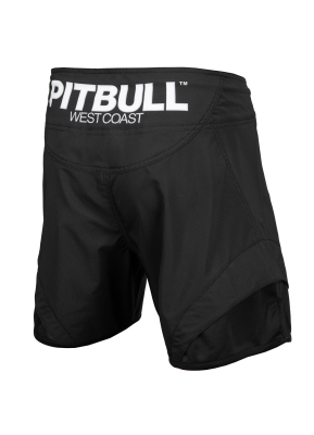 PitBull West Coast - Pánské grappling shorts PLAYER ONE černé
