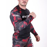 PitBull West Coast - L.S. Rashguard PB SPORT CAMO DARK