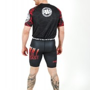 PitBull West Coast - Rashguard Mesh II. RED RAY